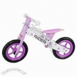 Wooden toy bike 83 x 37 x 54cm, PVC handgrip