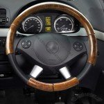 Woodgrain Car Steering Wheel Cover