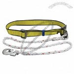 Work Positioning Belt With Lanyard Rope