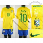 World Cup Brazil 10 Kaka Yellow Soccer Jerseys