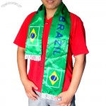 World Cup Brazil Soccer Team Fans Scarf