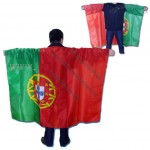 World Cup Football Fans Body Flag Cape