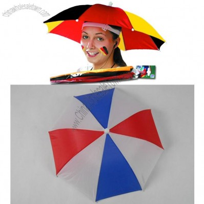 World Cup Football Fans Hat Umbrella