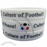 World Cup Football Fans Silicone Bracelet