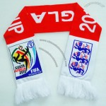World Cup Football National Soccer Fans Scarf