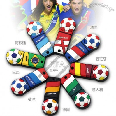 World Cup Football USB Flash Drive Memory Stick Disk