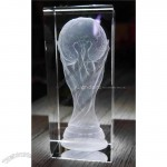 World Cup Glass Clear Crystal