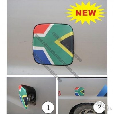World Cup National Flag Car Petrol Cap Cover