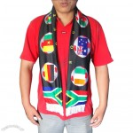 World Cup Soccer Fans Scarf