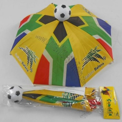 World Cup Umbrella Hat with Soccer in Top