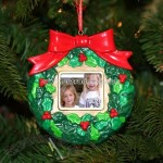 Wreath Digital LCD Photo Ornament