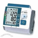 Wrist Blood Pressure Monitor With Digital LCD Screen