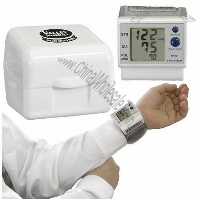 Wrist Style Blood Pressure Monitor with Storage Case