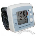 Wrist Style Digital Blood Pressure