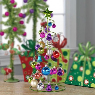 Wrought Iron Spiral Christmas Tree