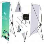 X-Banner Stand With Graphics