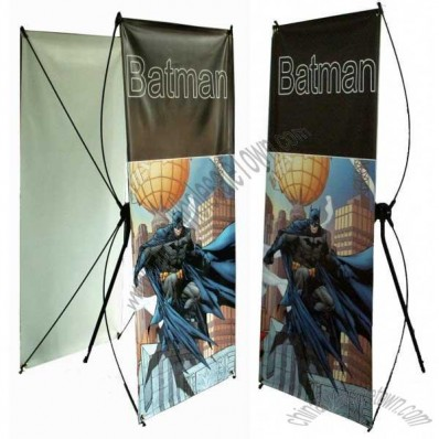 X-Banner Stand with Two Sides