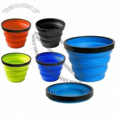 X-shot Food-grade Silicone Collapsible Cup