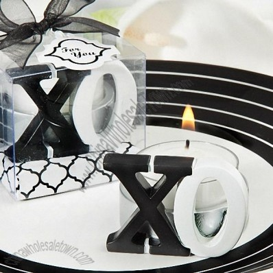 XO Tealight Candle Favor