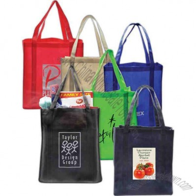 XXL recycled grocery tote made from 20% recycled material