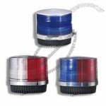 Xenon Strobe Warning Beacon Lights for Police Car Roof with Cigarette Plugs