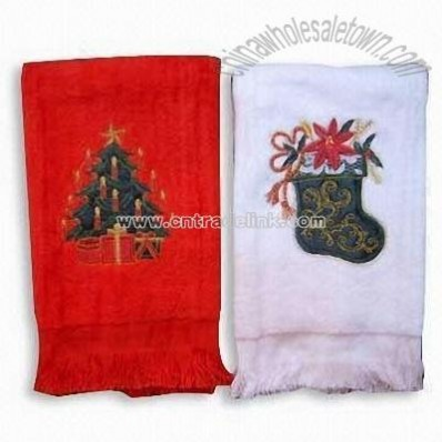Xmas Cotton Kitchen Towel