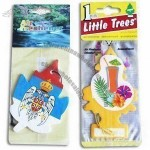 Xmas Design Car Paper Air Freshener