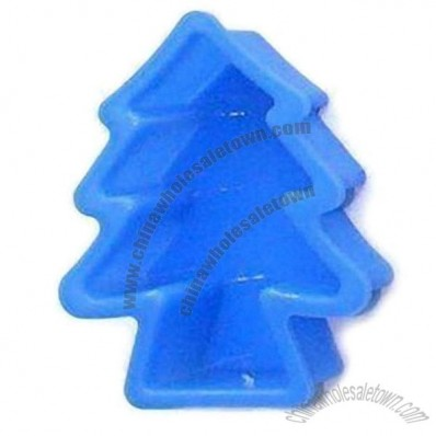 Xmas Tree Shaped Silicone Baking Pans