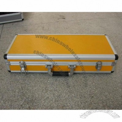 Yellow Aluminum Transport Case