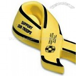 Yellow Award Ribbon Stress Ball