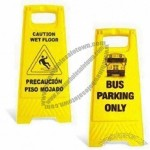 Yellow Caution Board for Warnings
