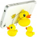 Yellow Duck Phone Sucker Stand