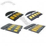 Yellow EPDM Rubber Embedded Speed Humps