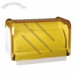 Yellow Roll Tissue Dispenser