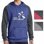 Young Men's Lightweight Fleece Raglan Hoodie