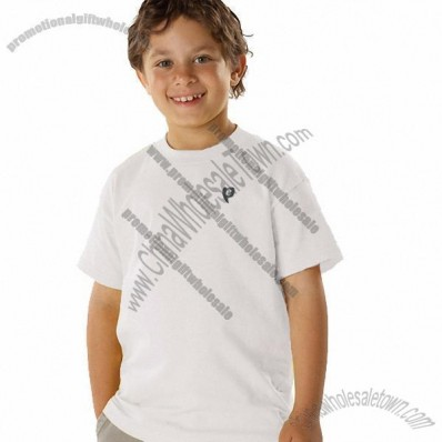 Youth Beefy Custom T-Shirt - White