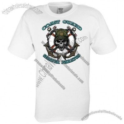 Youth Cotton Custom T-Shirt - White - Full Color Sublimation