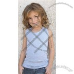 Youth Cotton Spandex Tank Top, Sleeveless T-Shirt