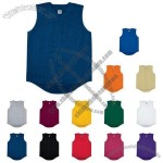 Youth Pro Mesh Sleeveless Button-front Jersey