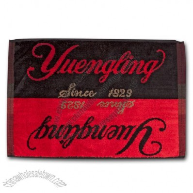 Yuengling Terry Bar Towel - Black & Red
