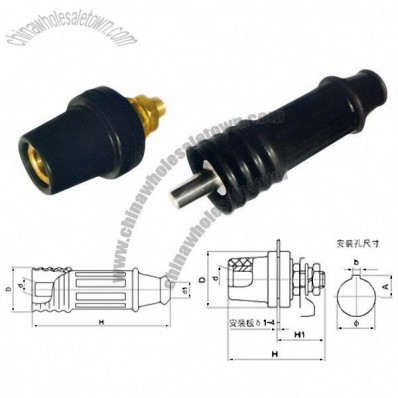Z Series Welding Cable Coupling Device Cable Connector