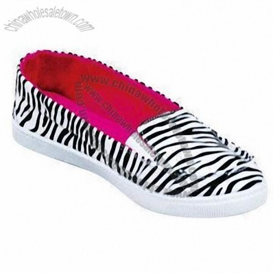 Zebra Fabric Injection Shoes