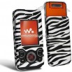 Zebra Pattern Clip-on Case for Sony Ericsson W580