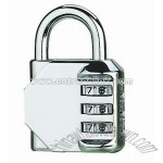 Zinc-Alloy Combination Padlock