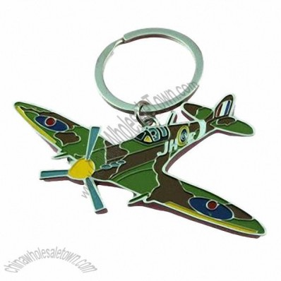 Zinc Alloy Fighter Keychain