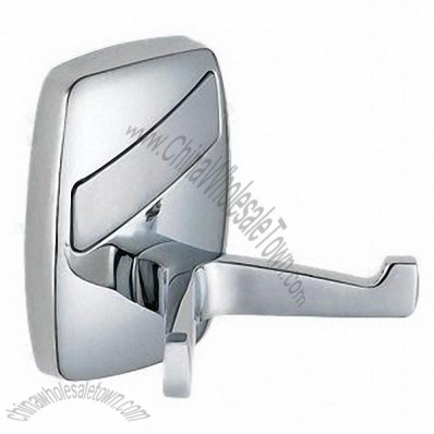 Zinc-alloy Bathroom Double-robe Hooks