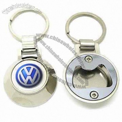 Zinc-alloy Bottle Opener Car Logo Keychains