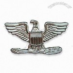 Zinc-alloy Shoulder Badge