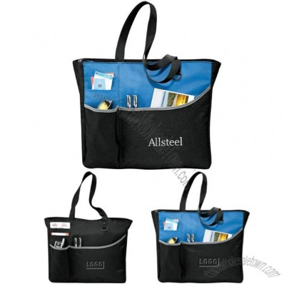 Zippered Meeting Tote Bag