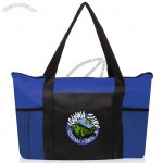 Zippered Nonwoven Tote Bags